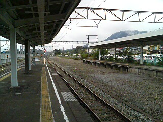 軽井沢駅構内