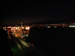 六甲アイランドからの夜景