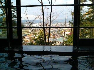 風呂からの眺め