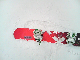 新雪1cm
