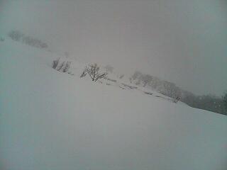 雪崩の危険