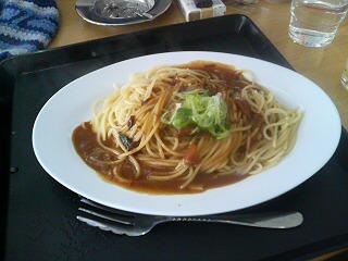 僕1号はカレースパゲティ
