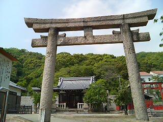 五宮神社発見