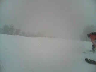 新雪たっぷり