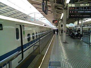 出張帰りの東京駅