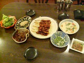 父子家庭の夕飯