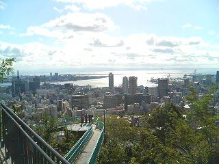 ビーナスブリッジから神戸港