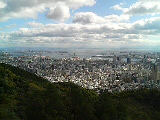 碇山から神戸港