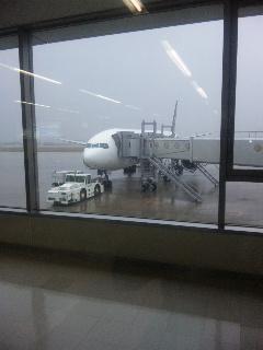 小松空港から