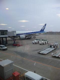 伊丹空港9<br />  番搭乗口