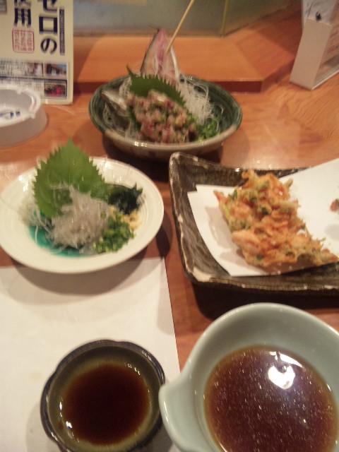静岡に於ける晩飯