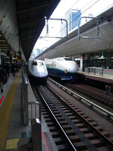 電車で富山