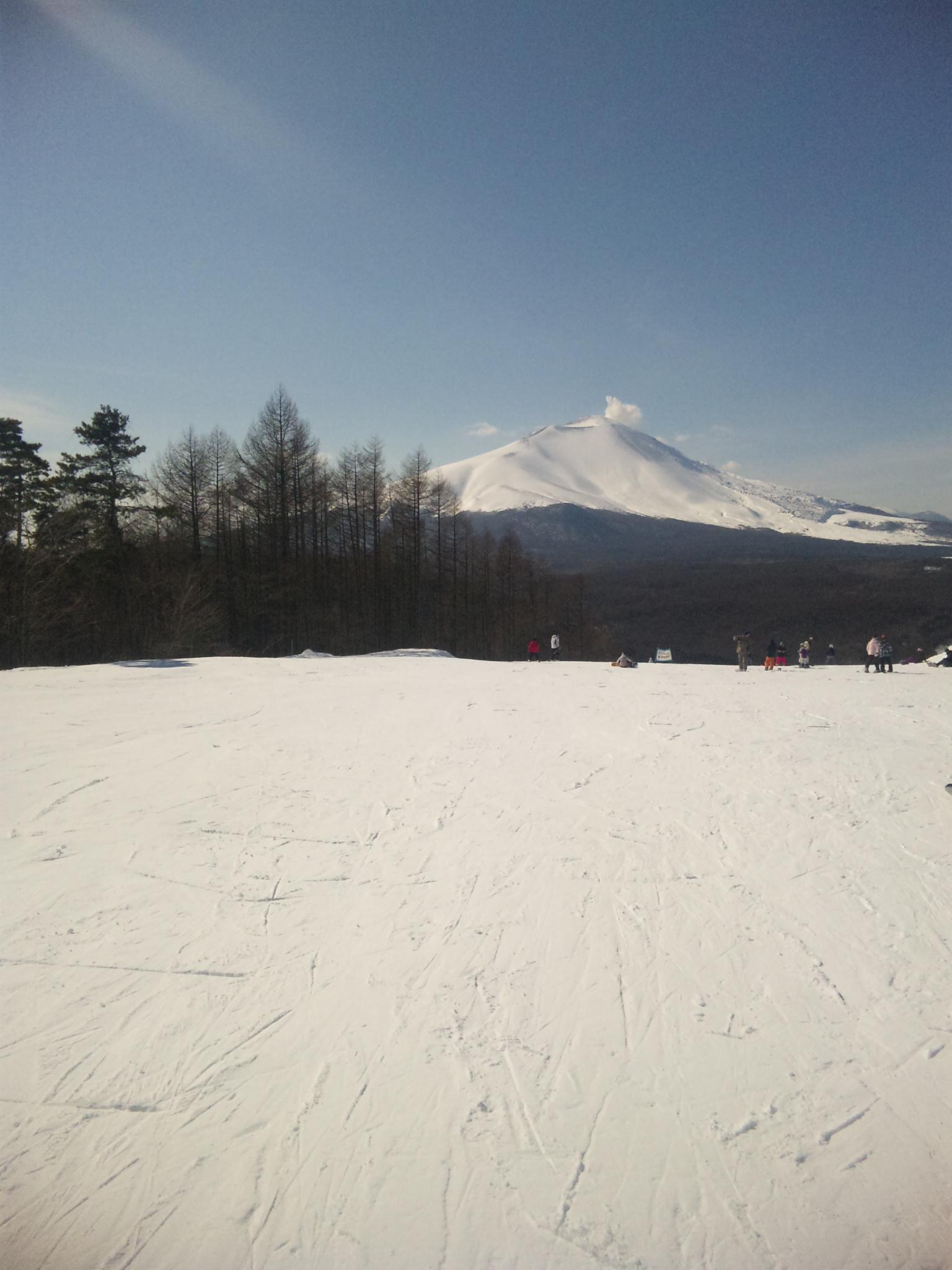 浅間山絶景