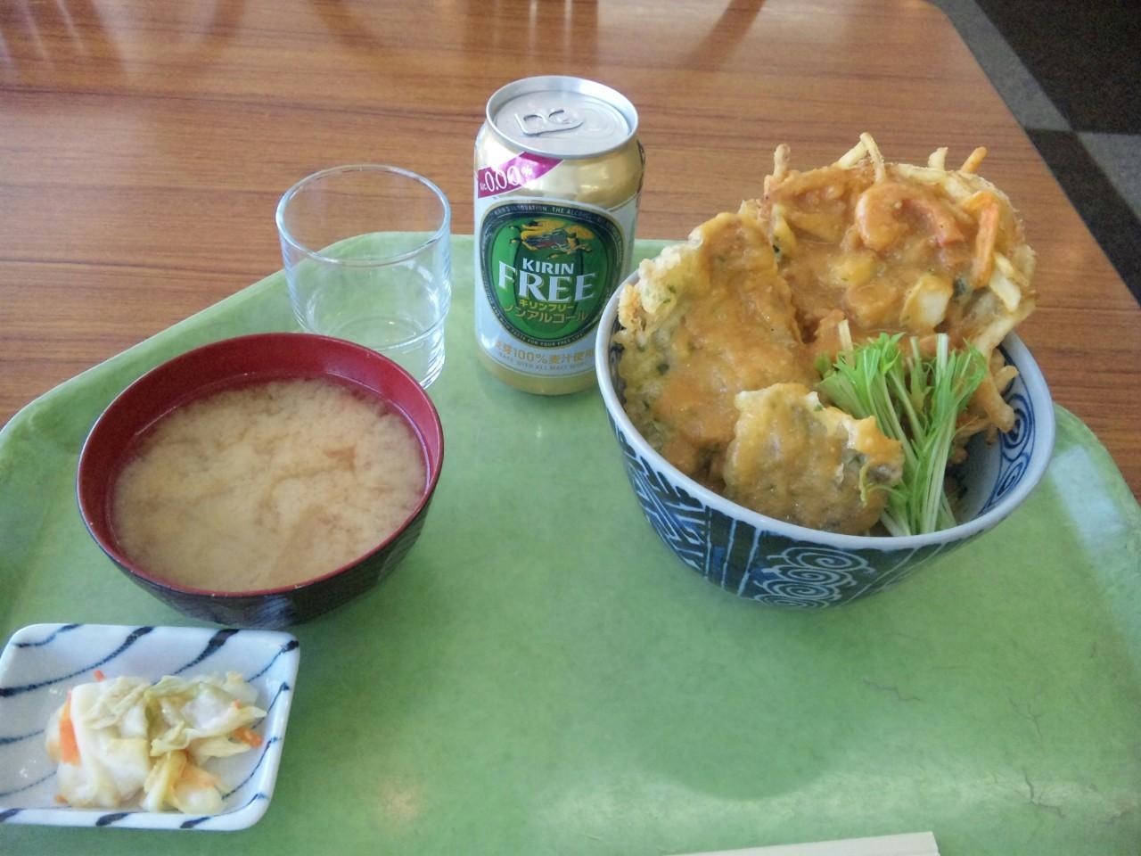 信州諏訪味噌天丼