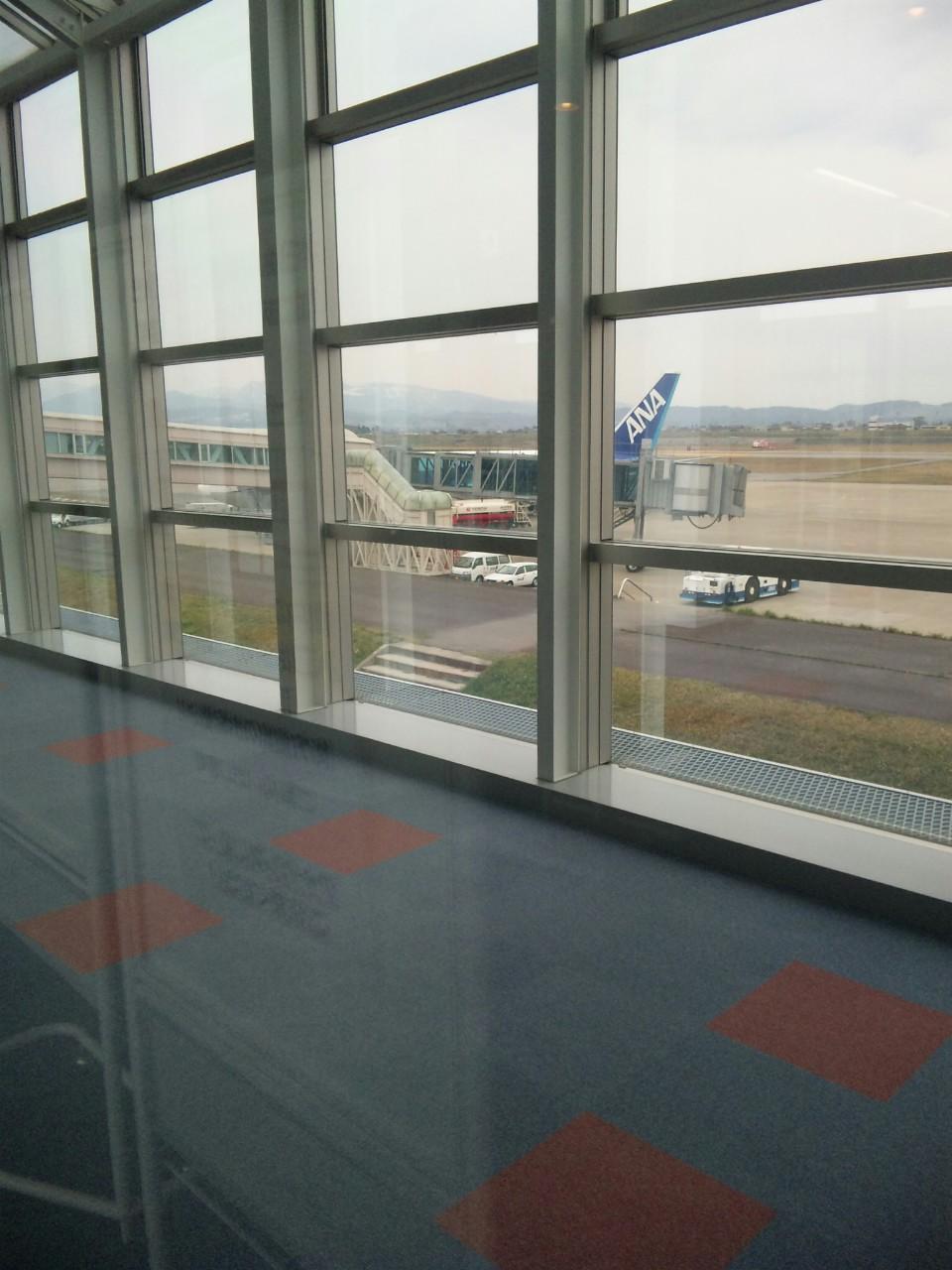 富山空港から