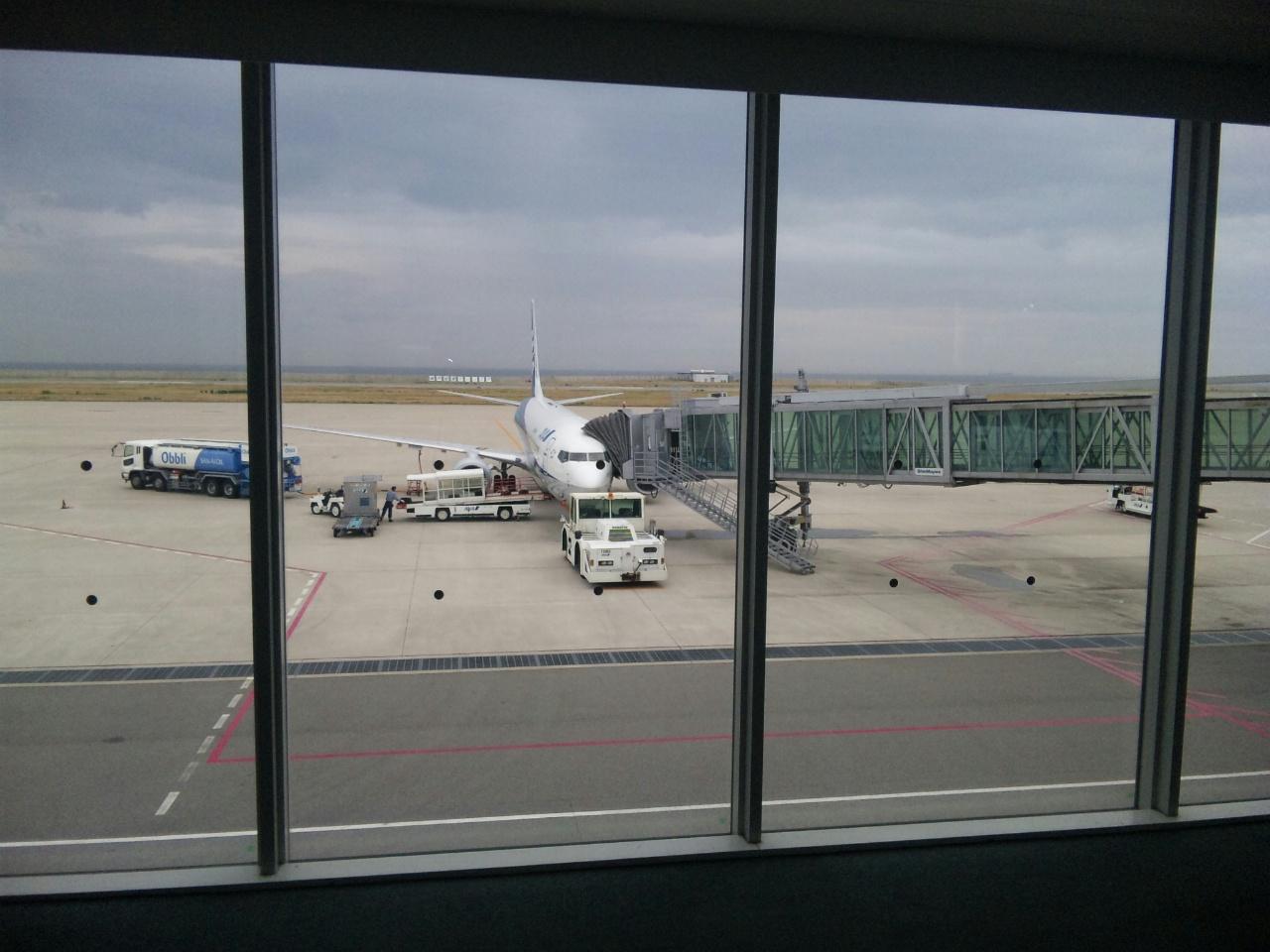 神戸空港から