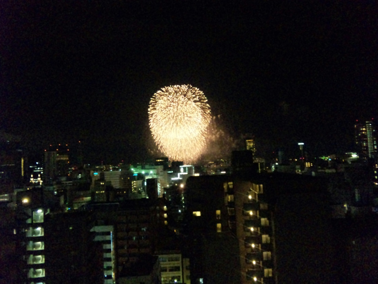 神戸の花火