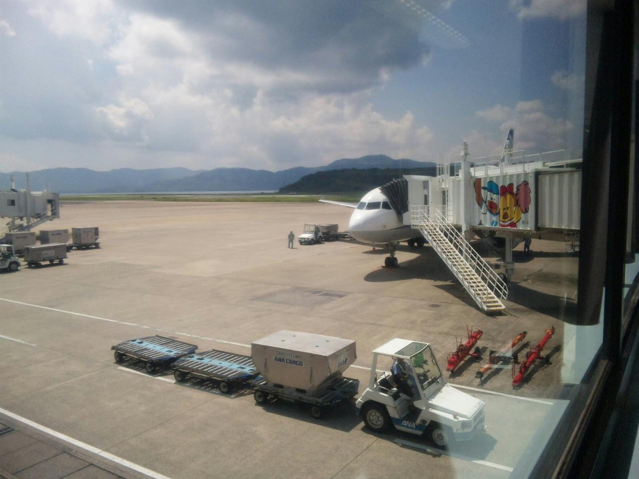 長崎空港に初着陸
