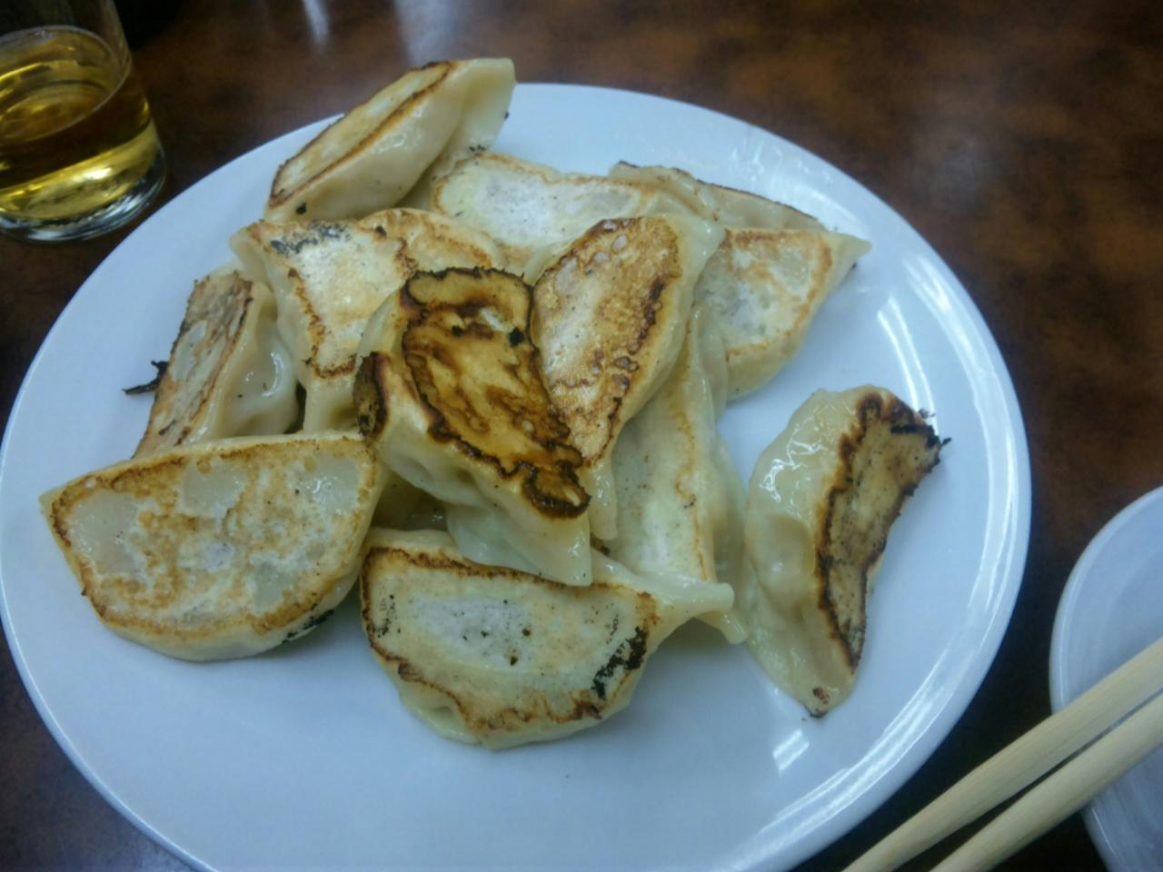 ひょうたんの餃子