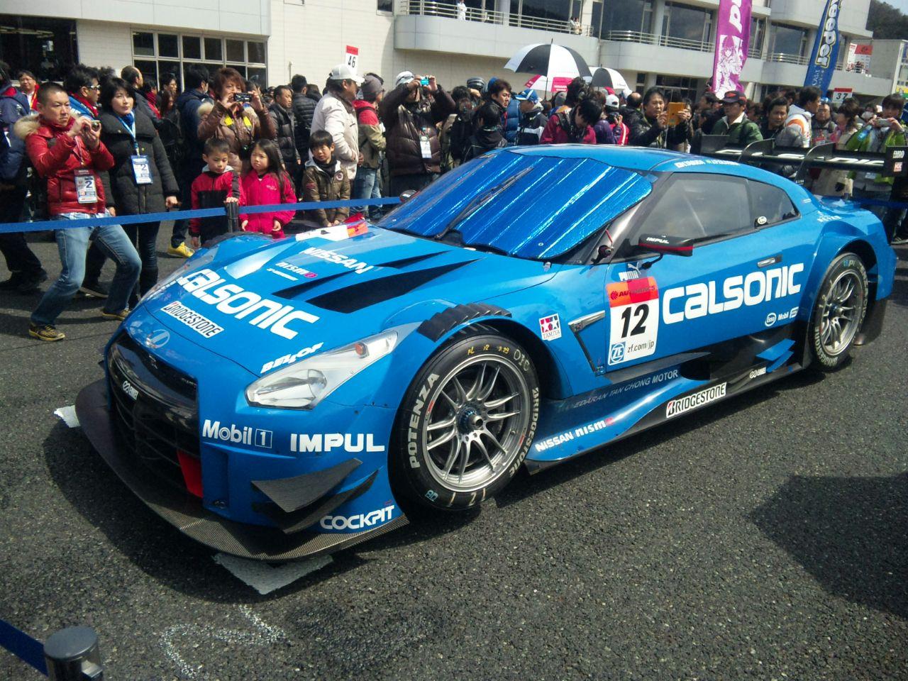 岡山GT300RACE