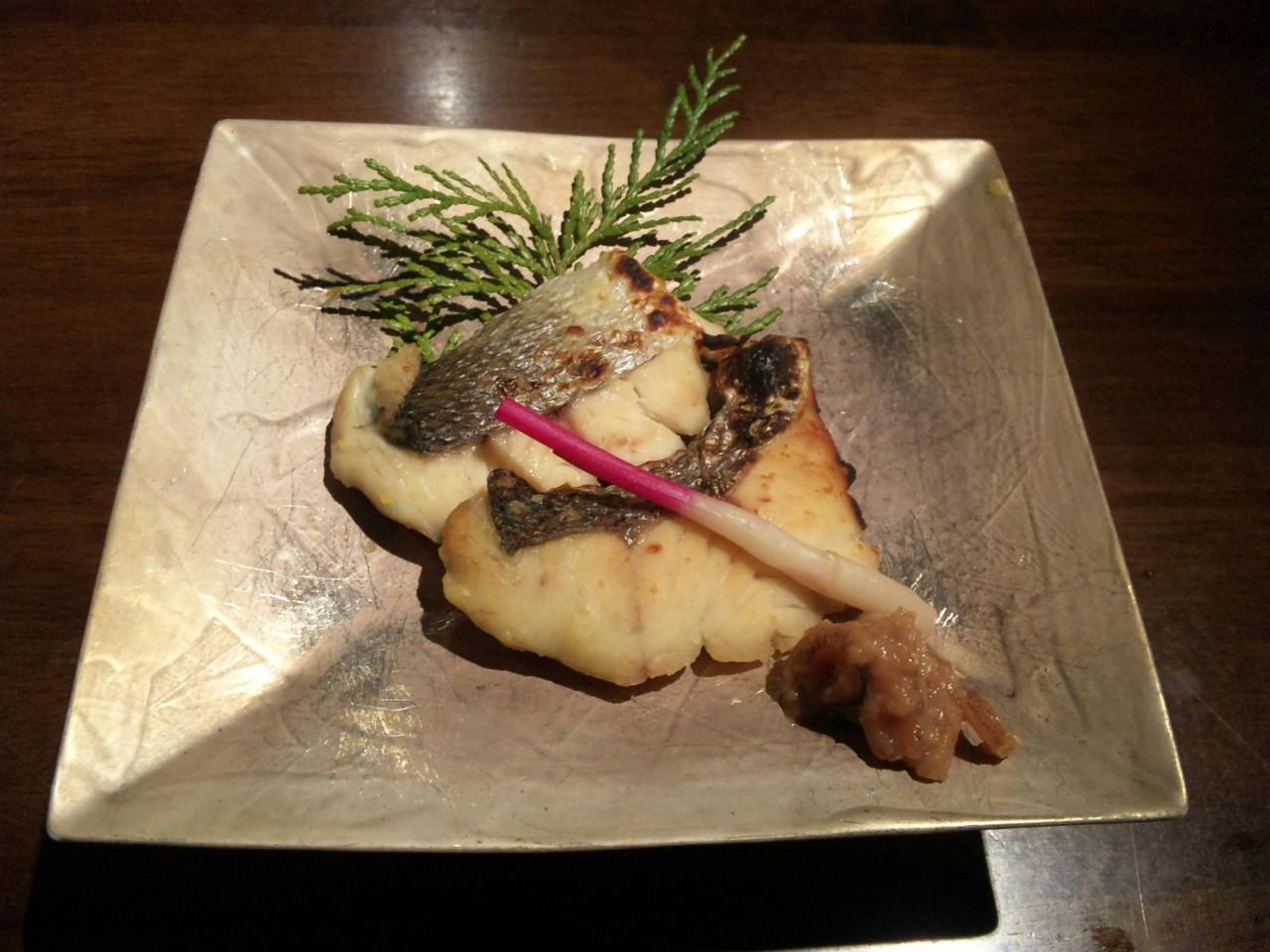 鱸の西京燒